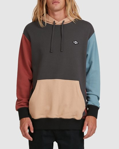 BB COLOUR BLOCK POP HOOD