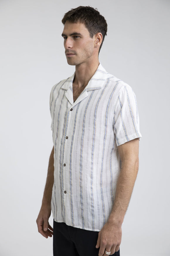 RH VACATION STRIPE SS SHIRT