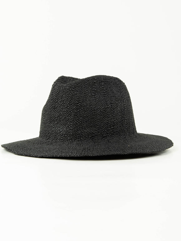 RU DEAN CRUSHABLE STRAW HAT