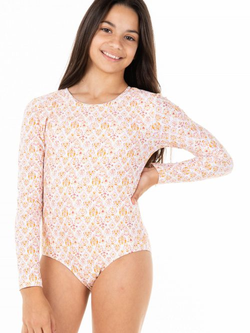 RU GIRLS SUNSET KEY LS ONE PIECE