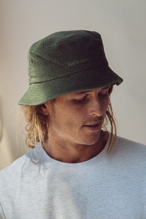 MC MCTAVISH CORDUROY BUCKET HAT