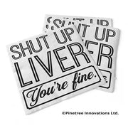 Napkin Shut Up Liver