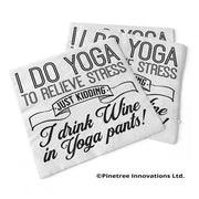 Napkin I Do Yoga