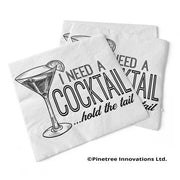Napkin I Need A Cocktail