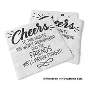 Napkin Cheers To The Nights