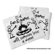 Napkin It's All Fun & Games