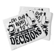 Bad Decisions | Beverage Napkins