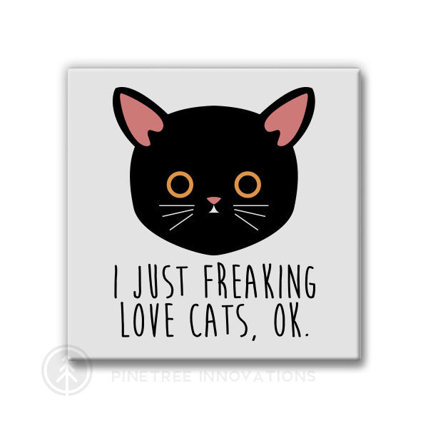 I Love Cats | Magnet