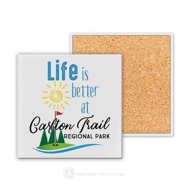 Life Is Better At (Golf Theme) | Coaster
