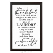 Thankful Laundry