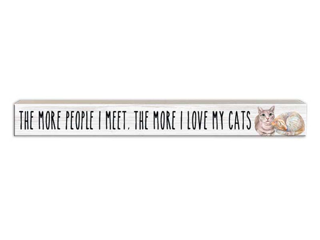 The More People I Meet - Cat