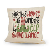 "Elf Surveillance | 12"" Pillow"