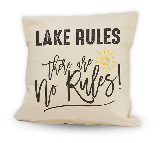 Lake Rules. There are No Rules