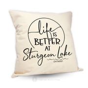 Life Is Better At (2) - Pillow
