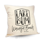 Lake Bum - Pillow