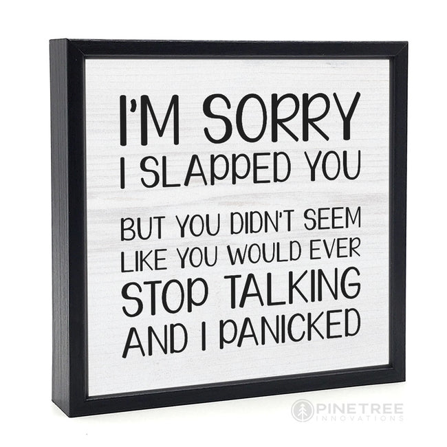I'm Sorry I Slapped You