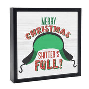 Merry Christmas Shitters Full | 'Chunky' Wood Sign