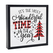 It's The Most Wonderful Time Of The Year | 'Chunky' Wood Sign