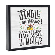 Jingle All The Way | 'Chunky' Wood Sign