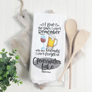 I Love The Times - Tea Towel