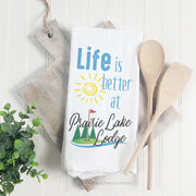 Life Is Better At (Golf) - Tea Towel