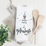 It's Wine o'Clock - Tea Towel