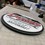 Gido's Garage | Wood Sign