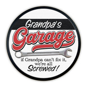 Grandpa's Garage | Wood Sign