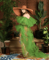 Mumbai Tulle Tunic/Gown (In Green, Pink)