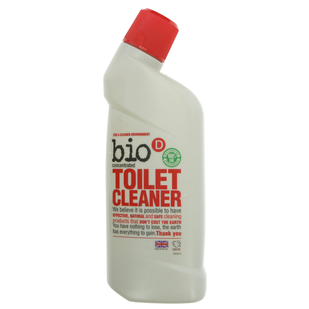BioD Toilet Cleaner Concentrated (750ml)