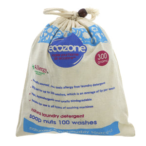 Ecozone Soap Nuts 100 Washes (300g)