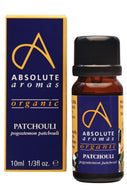 Absolute Aromas Organic Patchouli Essential Oil (10ml)