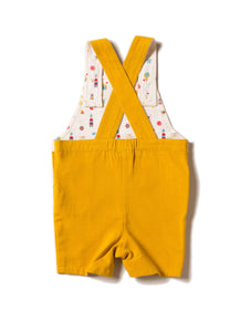 Over the rainbow short dungarees 9-12m