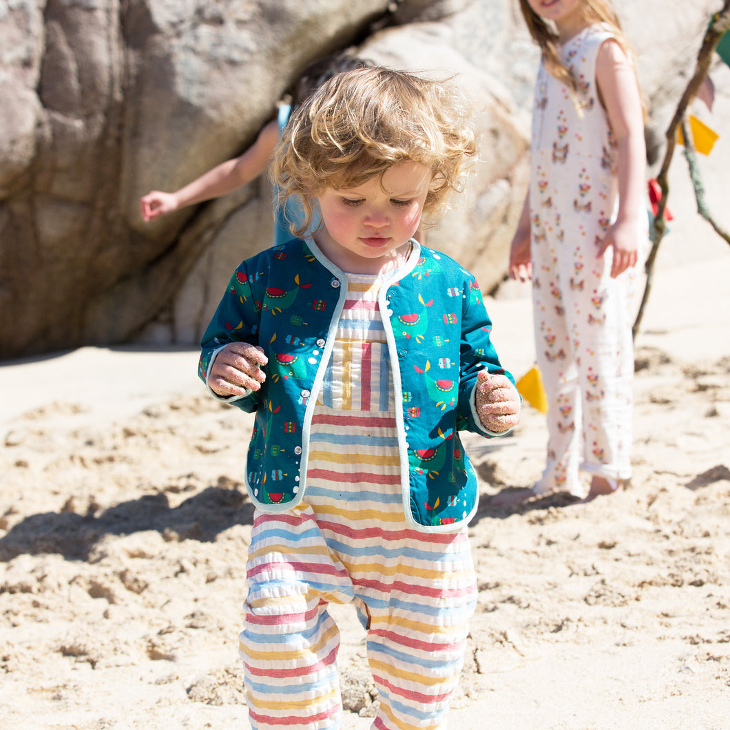 Whale of a time spring jacket 2-3y