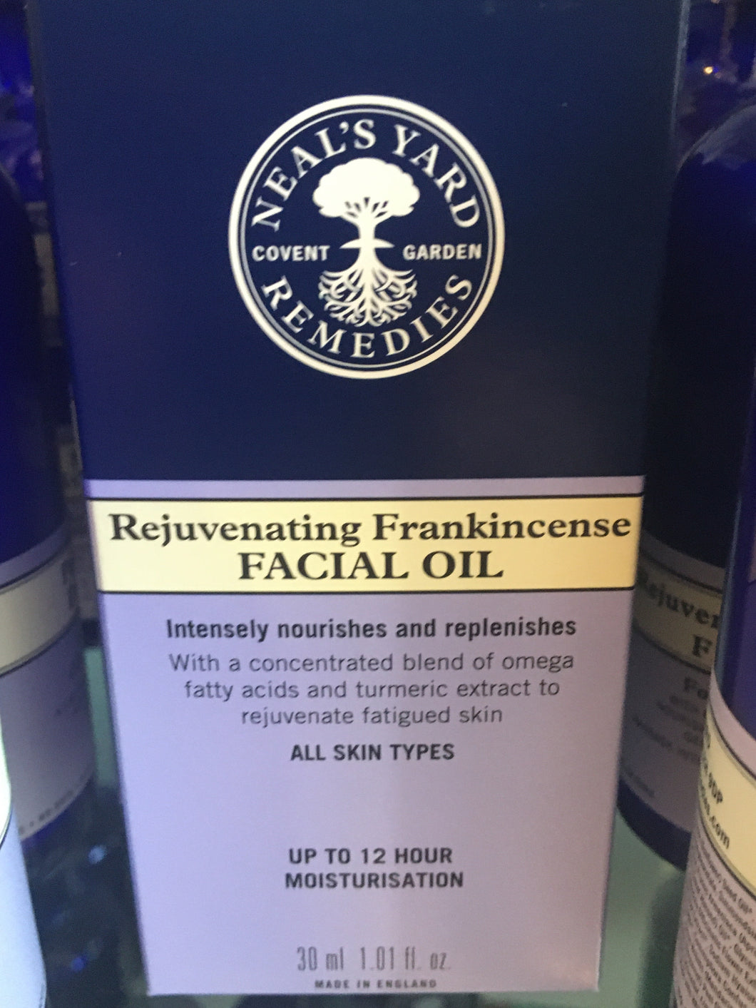 NYR Frankincense Facial Oil 30ml
