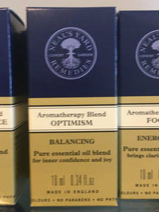 NYR Aromatherapy blend Optimism 10ml