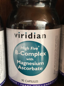 HIGH FIVE� B-Complex/Mag Ascorbate Veg C