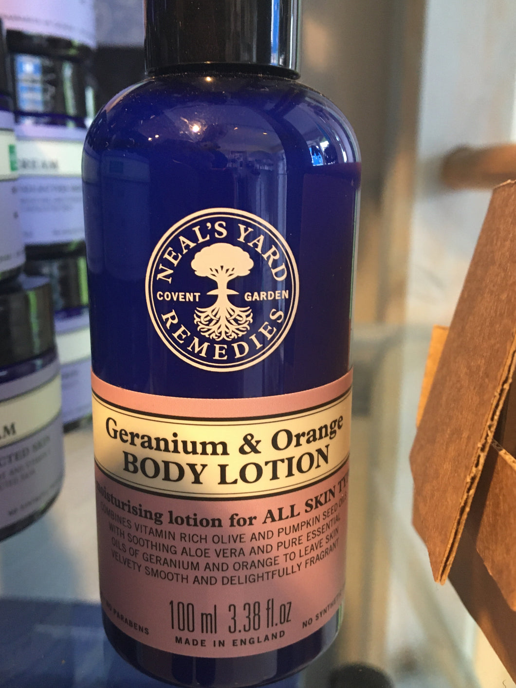 NYR Geranium & Orange Body Lotion 100ml