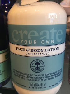NYR Face & Body Unfragranced Ltn 250ml
