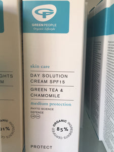 Green People Day Solution SPF 15 (50ml)
