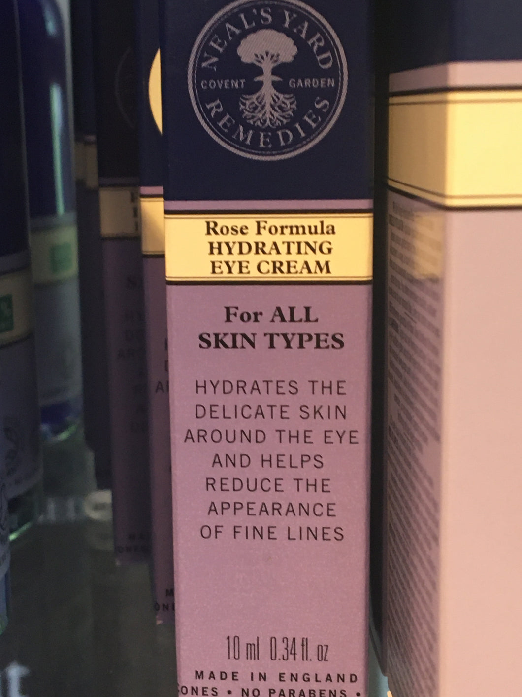NYR Rose Formula Hydrating Eye Cream 10m