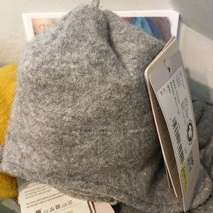 disana baby Boiled Wool Hat 1 grey