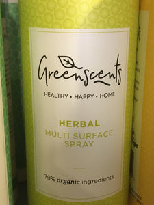 Greenscents Multi surface spray herbal 500ml