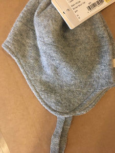 disana baby Boiled Wool Hat 2 grey