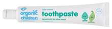 Load image into Gallery viewer, Green People Organic Children Toothpaste Spearmint & Aloe Vera