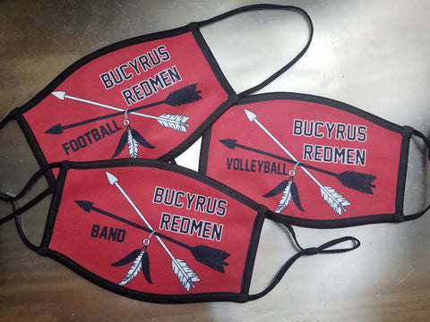 Customizable Bucyrus Face Mask