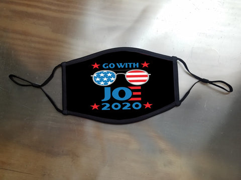 Go With Joe Sunglasses 2020 Face Mask