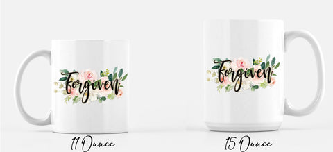 Forgiven Coffee Mug
