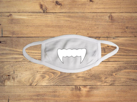Vampire Teeth Face Cover
