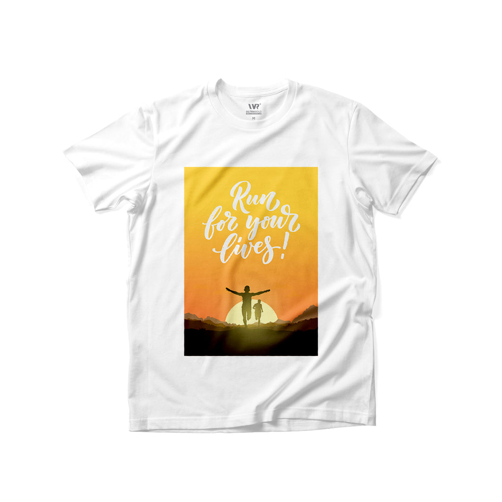 [Run For Your Lives] Premium Graphic Tee